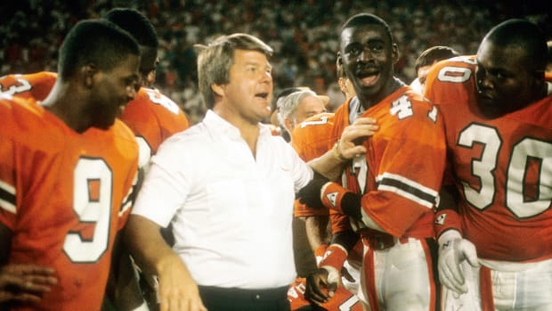 What skill did Tim Brown learn from the Miami Hurricanes - Image