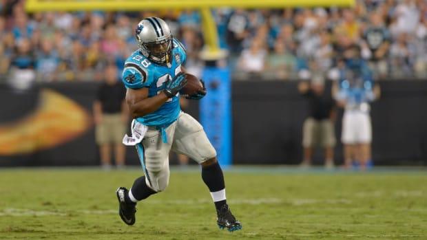 Panthers running back Jonathan Stewart