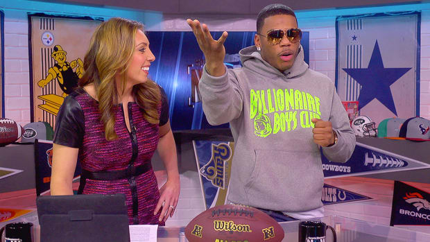 Nelly recruits Jimmy Graham to play for the Rams-Image