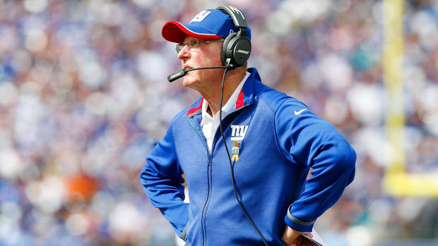 Where would Tom Coughlin want to move extra point to?