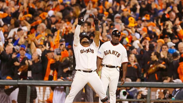 Pablo Sandoval Game 4 World Series