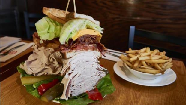 New York Yankees' Derek Jeter got his own sandwich at Carnegie Deli
