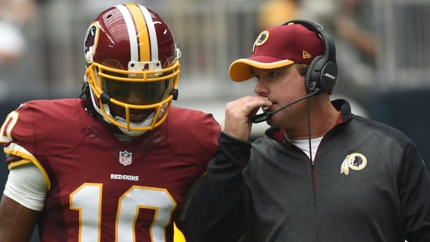 Redskins coach Jay Gruden responds to Robert Griffin III's comments IMAGE