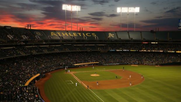 Oakland As stadium