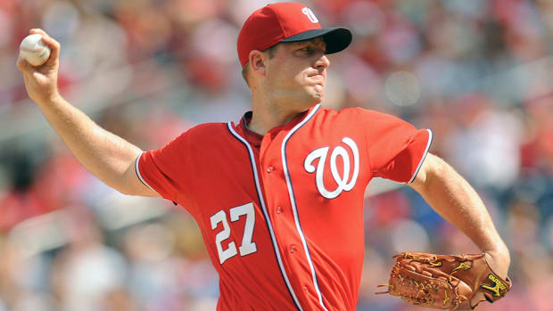 Jordan Zimmerman throws no hitter against Nationals