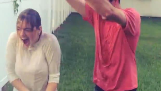 Kate Upton and Justin Verlander took the ALS Ice Bucket challenge