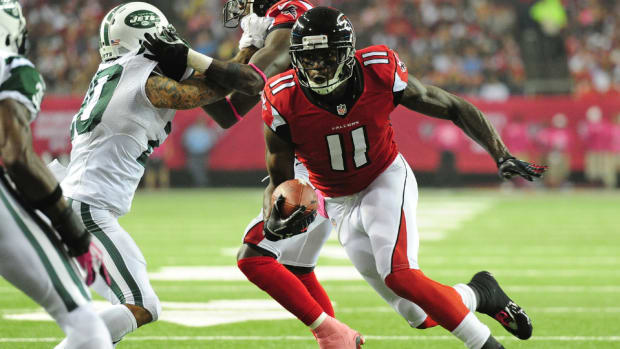 Falcons receiver Julio Jones