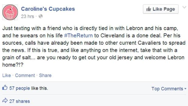 LeBron Cupcake shop