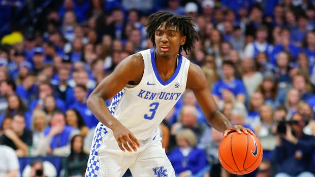 Kentucky Tyrese Maxey college basketball rankings