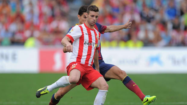 Almeria forward Rodri