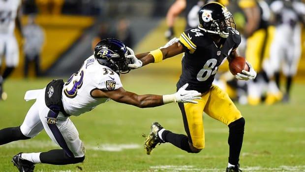 Antonio Brown Steelers vs. Ravens