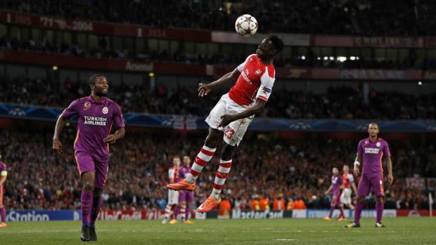 Danny Welbeck Arsenal Galatasaray