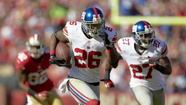 Antrel Rolle training camp Q&A on the New York Giants' secondary, Eli Manning