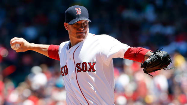 Boston Red Sox' Jake Peavy