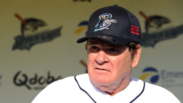 Former Reds great Pete Rose
