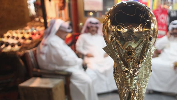Report: Qatar 2022 World Cup using N. Korean workers as 'state-sponsored slaves'