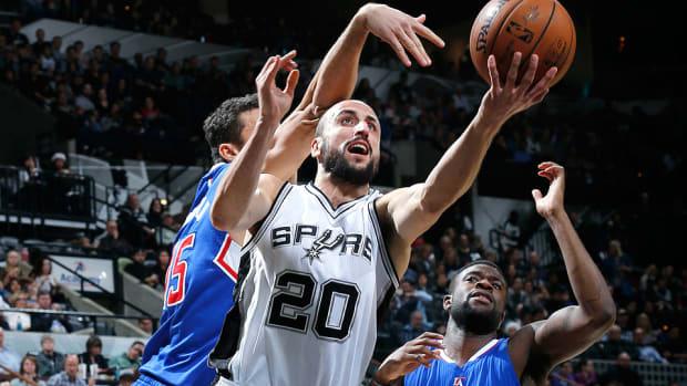 Manu Ginobili Spurs Clippers 960