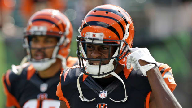 A.J. Green injured during Monday night's win vs. Broncos