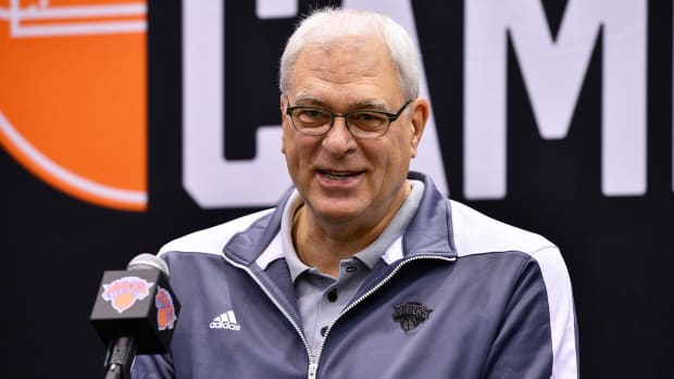 Phil Jackson on Trent Tucker Rule: 'The shot didn't count'