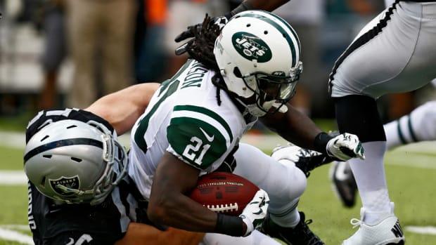 Jets running back Chris Johnson