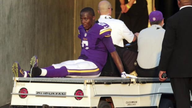 Vikings' Teddy Bridgewater returns to practice