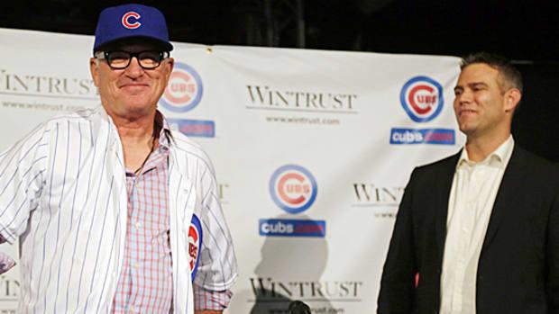 Joe Maddon introduced Cubs manager