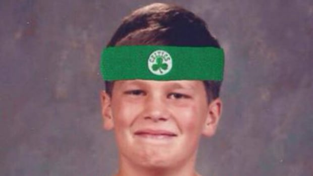 Tom Brady wishes the Boston Celtics good luck with funny picture