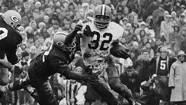 Jim Brown Cleveland Browns file