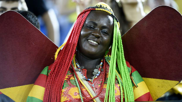 Ghana soccer fans US world cup