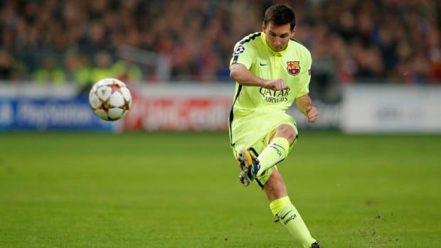 Lionel Messi 1105 Record 1