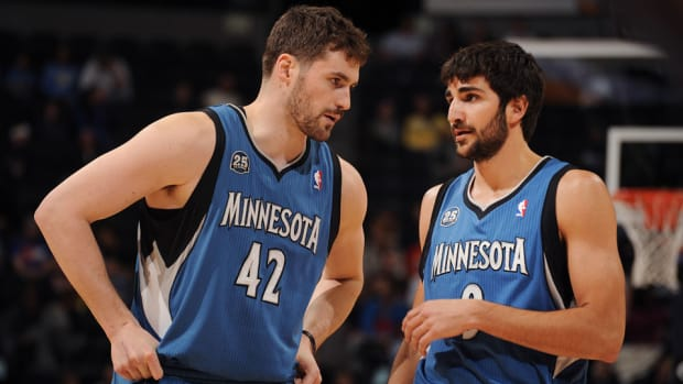 ricky rubio minnesota timberwolves without kevin love