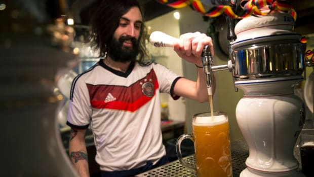 Germany drank 213 million gallons of beer during World Cup