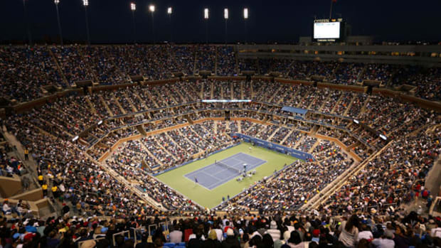 The USTA will add a roof to Arthur Ashe Stadium. (Cameron Spencer/Getty Images)