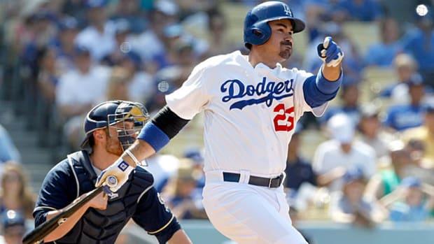 Adrian Gonzalez, Dodgers