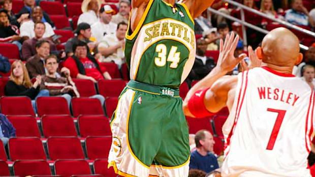 Ray Allen, Seattle SuperSonics
