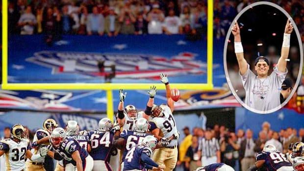 Patriots 20, Rams 17