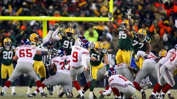Giants upend Packers in NFC Championship Game
