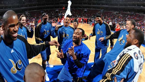 NBA benches Gilbert Arenas