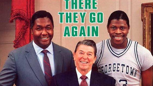 John Thompson, Ronald Reagan, Patrick Ewing