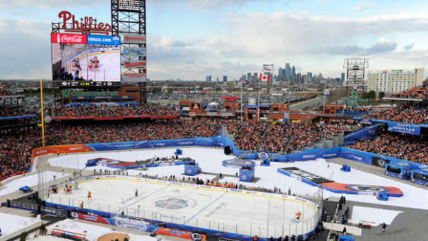 Rangers at Flyers