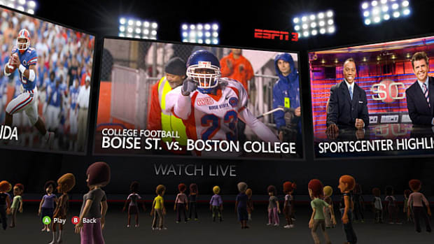 Hands-on: ESPN on Xbox Live