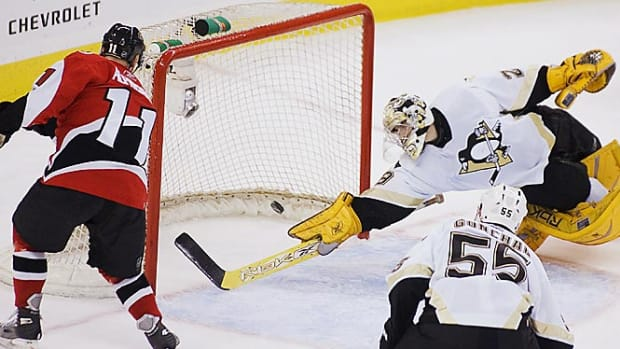 Penguins 4, Senators 3