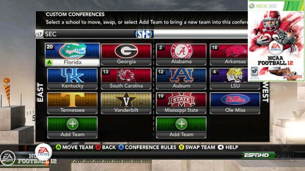 NCAA Football 12: Dynamic Conferences