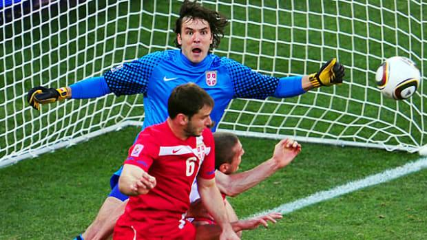 Serbia 1, Germany 0