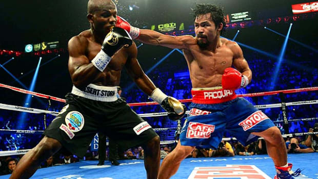 Timothy Bradley win over Manny Pacquiao by split decision