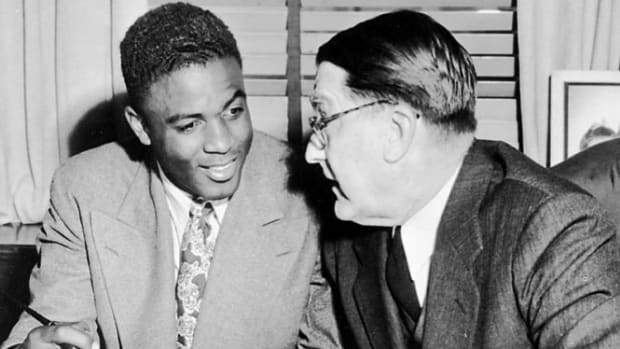 Branch Rickey and Jackie Robinson