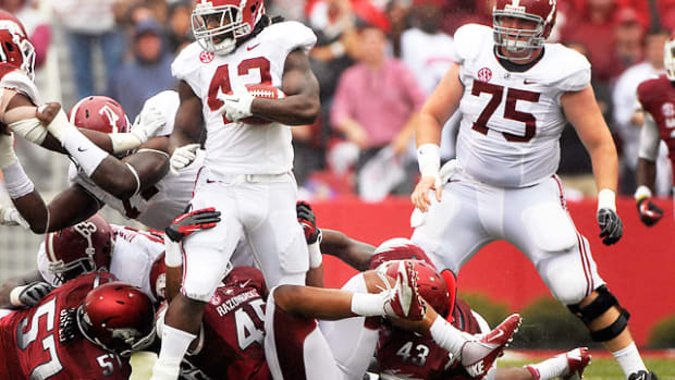 No. 1 Alabama 52, Arkansas 0