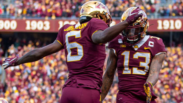 Minnesota entered the College Football Playoff conversation after upsetting Penn State at home.