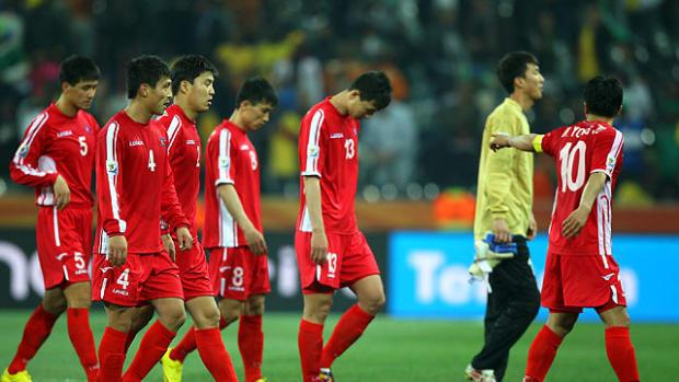 Ivory Coast 3, North Korea 0