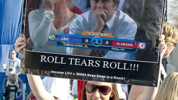 LSU fan